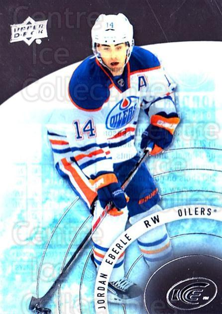 2014-15 UD Ice #10 Jordan Eberle<br/>6 In Stock - $2.00 each - <a href=https://centericecollectibles.foxycart.com/cart?name=2014-15%20UD%20Ice%20%2310%20Jordan%20Eberle...&quantity_max=6&price=$2.00&code=709341 class=foxycart> Buy it now! </a>