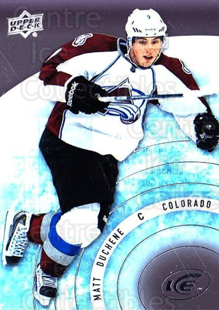 2014-15 UD Ice #27 Matt Duchene<br/>5 In Stock - $2.00 each - <a href=https://centericecollectibles.foxycart.com/cart?name=2014-15%20UD%20Ice%20%2327%20Matt%20Duchene...&quantity_max=5&price=$2.00&code=709358 class=foxycart> Buy it now! </a>
