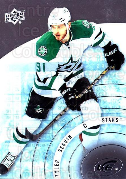 2014-15 UD Ice #42 Tyler Seguin<br/>5 In Stock - $2.00 each - <a href=https://centericecollectibles.foxycart.com/cart?name=2014-15%20UD%20Ice%20%2342%20Tyler%20Seguin...&quantity_max=5&price=$2.00&code=709373 class=foxycart> Buy it now! </a>