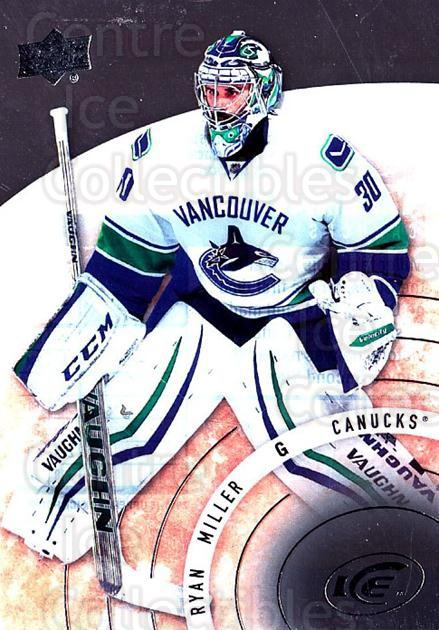 2014-15 UD Ice #58 Ryan Miller<br/>1 In Stock - $3.00 each - <a href=https://centericecollectibles.foxycart.com/cart?name=2014-15%20UD%20Ice%20%2358%20Ryan%20Miller...&quantity_max=1&price=$3.00&code=709389 class=foxycart> Buy it now! </a>