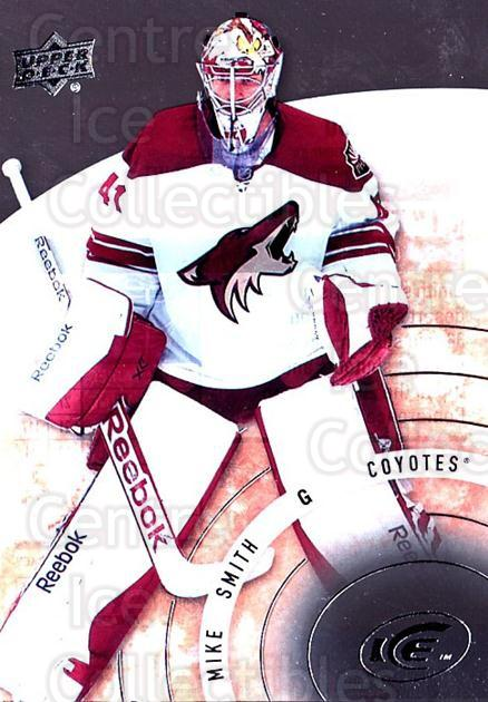 2014-15 UD Ice #60 Mike Smith<br/>1 In Stock - $3.00 each - <a href=https://centericecollectibles.foxycart.com/cart?name=2014-15%20UD%20Ice%20%2360%20Mike%20Smith...&quantity_max=1&price=$3.00&code=709391 class=foxycart> Buy it now! </a>