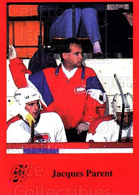 1993-94 Fredericton Canadiens #20 Jacques Parent<br/>10 In Stock - $3.00 each - <a href=https://centericecollectibles.foxycart.com/cart?name=1993-94%20Fredericton%20Canadiens%20%2320%20Jacques%20Parent...&quantity_max=10&price=$3.00&code=7096 class=foxycart> Buy it now! </a>