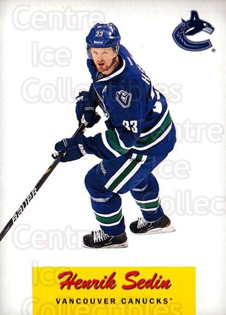 2012-13 O-Pee-Chee Retro #72 Henrik Sedin<br/>1 In Stock - $2.00 each - <a href=https://centericecollectibles.foxycart.com/cart?name=2012-13%20O-Pee-Chee%20Retro%20%2372%20Henrik%20Sedin...&quantity_max=1&price=$2.00&code=709730 class=foxycart> Buy it now! </a>