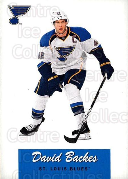 2012-13 O-Pee-Chee Retro #110 David Backes<br/>1 In Stock - $2.00 each - <a href=https://centericecollectibles.foxycart.com/cart?name=2012-13%20O-Pee-Chee%20Retro%20%23110%20David%20Backes...&quantity_max=1&price=$2.00&code=709762 class=foxycart> Buy it now! </a>