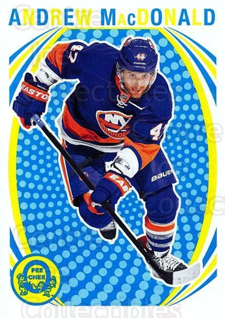 2013-14 O-Pee-Chee Retro #89 Andrew MacDonald<br/>1 In Stock - $2.00 each - <a href=https://centericecollectibles.foxycart.com/cart?name=2013-14%20O-Pee-Chee%20Retro%20%2389%20Andrew%20MacDonal...&quantity_max=1&price=$2.00&code=710188 class=foxycart> Buy it now! </a>