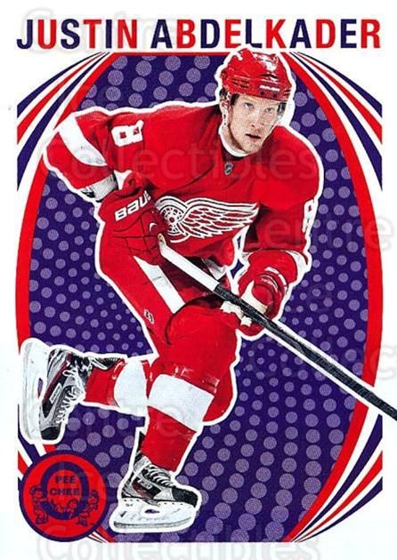 2013-14 O-Pee-Chee Retro #108 Justin Abdelkader<br/>1 In Stock - $2.00 each - <a href=https://centericecollectibles.foxycart.com/cart?name=2013-14%20O-Pee-Chee%20Retro%20%23108%20Justin%20Abdelkad...&quantity_max=1&price=$2.00&code=710207 class=foxycart> Buy it now! </a>