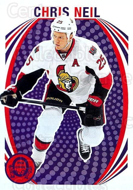 2013-14 O-Pee-Chee Retro #122 Chris Neil<br/>1 In Stock - $2.00 each - <a href=https://centericecollectibles.foxycart.com/cart?name=2013-14%20O-Pee-Chee%20Retro%20%23122%20Chris%20Neil...&quantity_max=1&price=$2.00&code=710221 class=foxycart> Buy it now! </a>