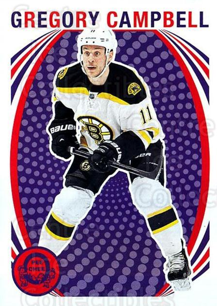 2013-14 O-Pee-Chee Retro #148 Gregory Campbell<br/>1 In Stock - $2.00 each - <a href=https://centericecollectibles.foxycart.com/cart?name=2013-14%20O-Pee-Chee%20Retro%20%23148%20Gregory%20Campbel...&quantity_max=1&price=$2.00&code=710247 class=foxycart> Buy it now! </a>