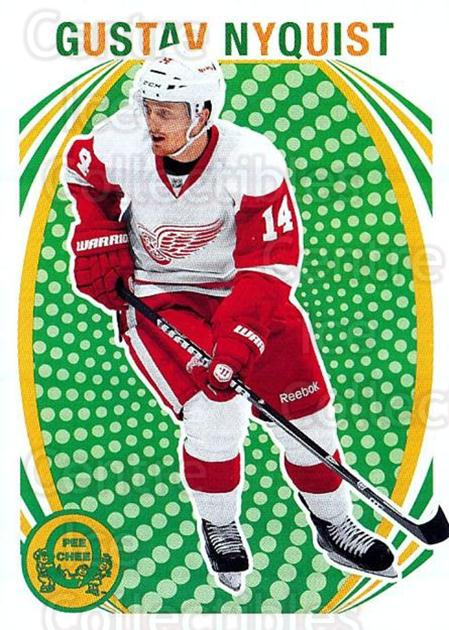 2013-14 O-Pee-Chee Retro #225 Gustav Nyquist<br/>1 In Stock - $2.00 each - <a href=https://centericecollectibles.foxycart.com/cart?name=2013-14%20O-Pee-Chee%20Retro%20%23225%20Gustav%20Nyquist...&quantity_max=1&price=$2.00&code=710324 class=foxycart> Buy it now! </a>