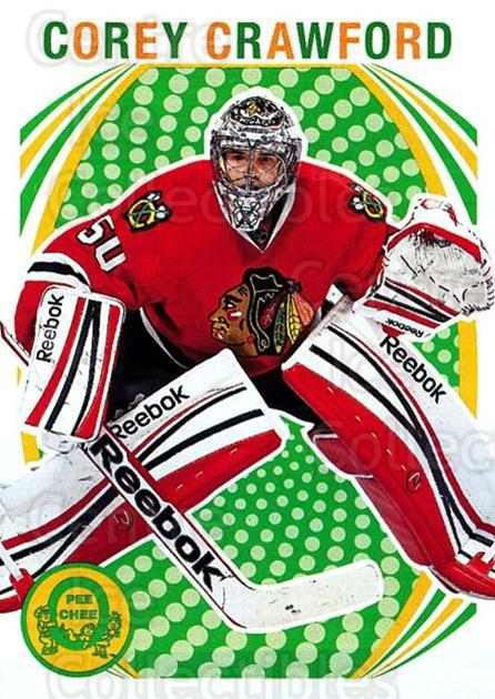2013-14 O-Pee-Chee Retro #246 Corey Crawford<br/>1 In Stock - $2.00 each - <a href=https://centericecollectibles.foxycart.com/cart?name=2013-14%20O-Pee-Chee%20Retro%20%23246%20Corey%20Crawford...&quantity_max=1&price=$2.00&code=710345 class=foxycart> Buy it now! </a>