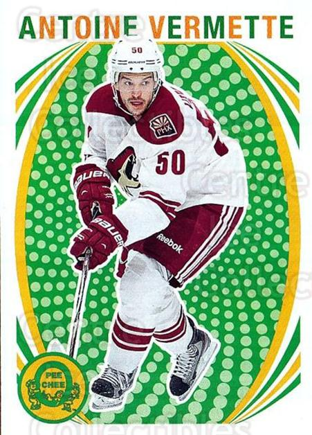 2013-14 O-Pee-Chee Retro #288 Antoine Vermette<br/>1 In Stock - $2.00 each - <a href=https://centericecollectibles.foxycart.com/cart?name=2013-14%20O-Pee-Chee%20Retro%20%23288%20Antoine%20Vermett...&quantity_max=1&price=$2.00&code=710387 class=foxycart> Buy it now! </a>