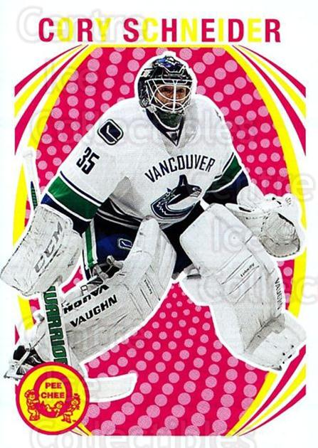 2013-14 O-Pee-Chee Retro #311 Cory Schneider<br/>1 In Stock - $2.00 each - <a href=https://centericecollectibles.foxycart.com/cart?name=2013-14%20O-Pee-Chee%20Retro%20%23311%20Cory%20Schneider...&quantity_max=1&price=$2.00&code=710410 class=foxycart> Buy it now! </a>