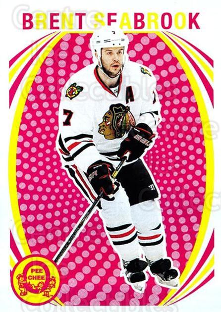2013-14 O-Pee-Chee Retro #316 Brent Seabrook<br/>1 In Stock - $2.00 each - <a href=https://centericecollectibles.foxycart.com/cart?name=2013-14%20O-Pee-Chee%20Retro%20%23316%20Brent%20Seabrook...&quantity_max=1&price=$2.00&code=710415 class=foxycart> Buy it now! </a>