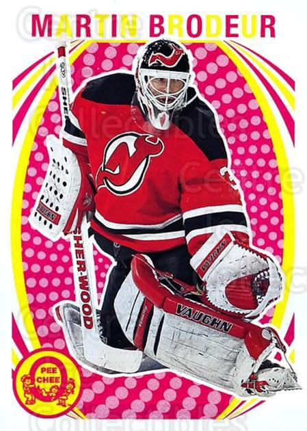 2013-14 O-Pee-Chee Retro #328 Martin Brodeur<br/>1 In Stock - $5.00 each - <a href=https://centericecollectibles.foxycart.com/cart?name=2013-14%20O-Pee-Chee%20Retro%20%23328%20Martin%20Brodeur...&quantity_max=1&price=$5.00&code=710427 class=foxycart> Buy it now! </a>