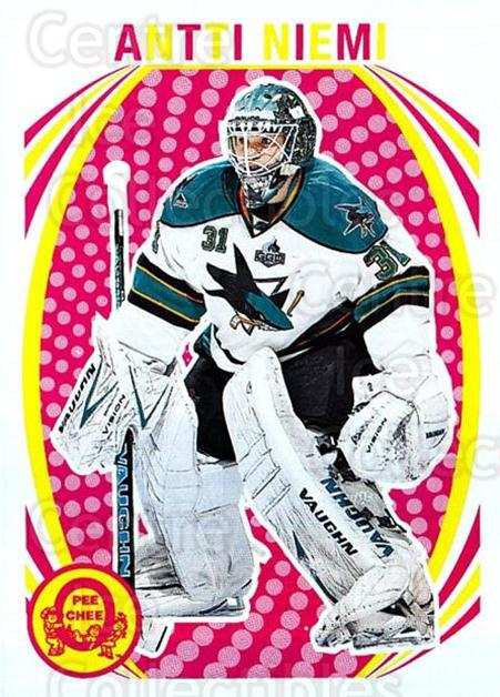 2013-14 O-Pee-Chee Retro #366 Antti Niemi<br/>1 In Stock - $2.00 each - <a href=https://centericecollectibles.foxycart.com/cart?name=2013-14%20O-Pee-Chee%20Retro%20%23366%20Antti%20Niemi...&quantity_max=1&price=$2.00&code=710465 class=foxycart> Buy it now! </a>
