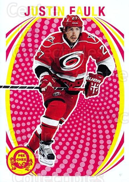 2013-14 O-Pee-Chee Retro #377 Justin Faulk<br/>1 In Stock - $2.00 each - <a href=https://centericecollectibles.foxycart.com/cart?name=2013-14%20O-Pee-Chee%20Retro%20%23377%20Justin%20Faulk...&quantity_max=1&price=$2.00&code=710476 class=foxycart> Buy it now! </a>