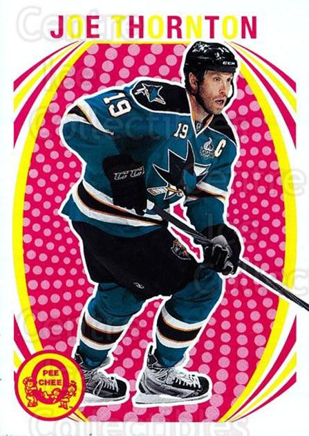 2013-14 O-Pee-Chee Retro #387 Joe Thornton<br/>1 In Stock - $2.00 each - <a href=https://centericecollectibles.foxycart.com/cart?name=2013-14%20O-Pee-Chee%20Retro%20%23387%20Joe%20Thornton...&quantity_max=1&price=$2.00&code=710486 class=foxycart> Buy it now! </a>