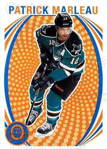 2013-14 O-Pee-Chee Retro #495 Patrick Marleau<br/>1 In Stock - $2.00 each - <a href=https://centericecollectibles.foxycart.com/cart?name=2013-14%20O-Pee-Chee%20Retro%20%23495%20Patrick%20Marleau...&quantity_max=1&price=$2.00&code=710594 class=foxycart> Buy it now! </a>