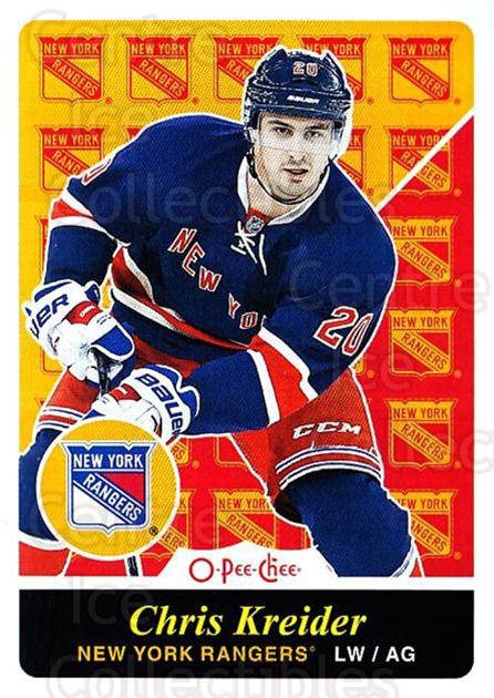2015-16 O-pee-chee Retro #27 Chris Kreider<br/>1 In Stock - $2.00 each - <a href=https://centericecollectibles.foxycart.com/cart?name=2015-16%20O-pee-chee%20Retro%20%2327%20Chris%20Kreider...&quantity_max=1&price=$2.00&code=710768 class=foxycart> Buy it now! </a>
