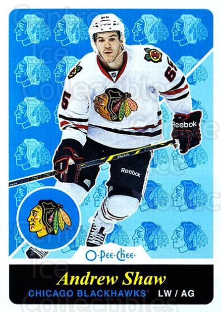 2015-16 O-pee-chee Retro #34 Andrew Shaw<br/>1 In Stock - $2.00 each - <a href=https://centericecollectibles.foxycart.com/cart?name=2015-16%20O-pee-chee%20Retro%20%2334%20Andrew%20Shaw...&quantity_max=1&price=$2.00&code=710775 class=foxycart> Buy it now! </a>