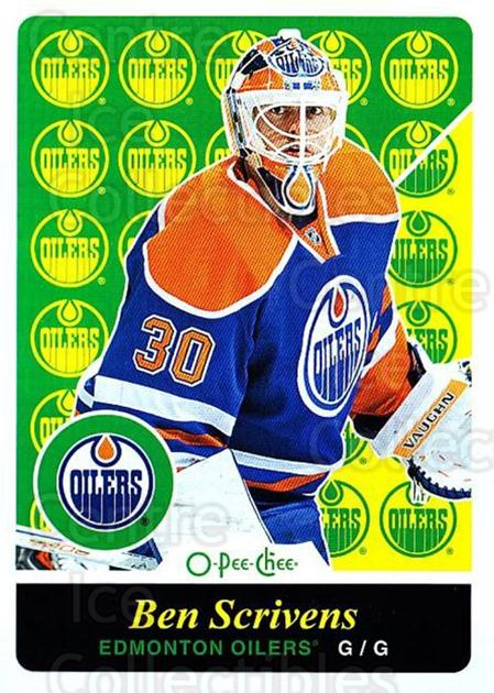 2015-16 O-pee-chee Retro #66 Ben Scrivens<br/>1 In Stock - $2.00 each - <a href=https://centericecollectibles.foxycart.com/cart?name=2015-16%20O-pee-chee%20Retro%20%2366%20Ben%20Scrivens...&quantity_max=1&price=$2.00&code=710807 class=foxycart> Buy it now! </a>
