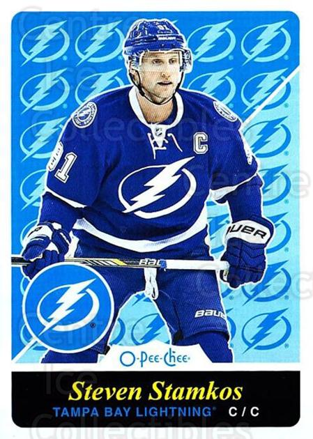 2015-16 O-pee-chee Retro #100 Steven Stamkos<br/>1 In Stock - $3.00 each - <a href=https://centericecollectibles.foxycart.com/cart?name=2015-16%20O-pee-chee%20Retro%20%23100%20Steven%20Stamkos...&price=$3.00&code=710841 class=foxycart> Buy it now! </a>