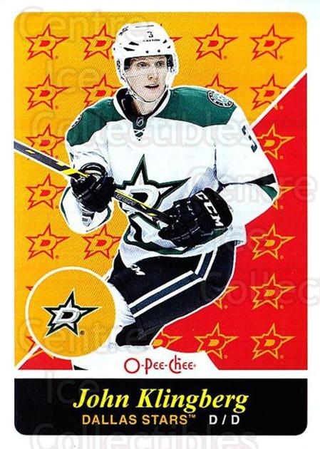 2015-16 O-pee-chee Retro #119 John Klingberg<br/>1 In Stock - $2.00 each - <a href=https://centericecollectibles.foxycart.com/cart?name=2015-16%20O-pee-chee%20Retro%20%23119%20John%20Klingberg...&quantity_max=1&price=$2.00&code=710860 class=foxycart> Buy it now! </a>