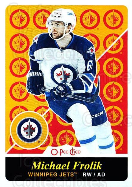 2015-16 O-pee-chee Retro #128 Michael Frolik<br/>1 In Stock - $2.00 each - <a href=https://centericecollectibles.foxycart.com/cart?name=2015-16%20O-pee-chee%20Retro%20%23128%20Michael%20Frolik...&quantity_max=1&price=$2.00&code=710869 class=foxycart> Buy it now! </a>