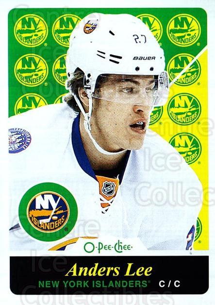 2015-16 O-pee-chee Retro #129 Anders Lee<br/>1 In Stock - $2.00 each - <a href=https://centericecollectibles.foxycart.com/cart?name=2015-16%20O-pee-chee%20Retro%20%23129%20Anders%20Lee...&quantity_max=1&price=$2.00&code=710870 class=foxycart> Buy it now! </a>