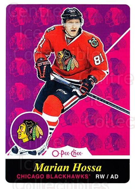 2015-16 O-pee-chee Retro #132 Marian Hossa<br/>1 In Stock - $2.00 each - <a href=https://centericecollectibles.foxycart.com/cart?name=2015-16%20O-pee-chee%20Retro%20%23132%20Marian%20Hossa...&quantity_max=1&price=$2.00&code=710873 class=foxycart> Buy it now! </a>