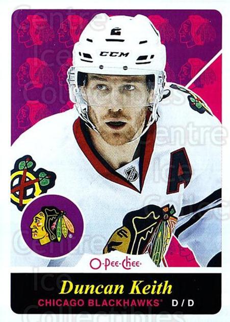 2015-16 O-pee-chee Retro #162 Duncan Keith<br/>1 In Stock - $3.00 each - <a href=https://centericecollectibles.foxycart.com/cart?name=2015-16%20O-pee-chee%20Retro%20%23162%20Duncan%20Keith...&quantity_max=1&price=$3.00&code=710903 class=foxycart> Buy it now! </a>