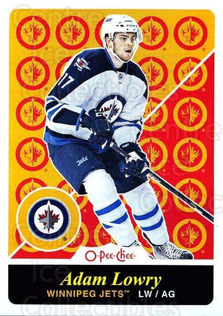 2015-16 O-pee-chee Retro #174 Adam Lowry<br/>1 In Stock - $2.00 each - <a href=https://centericecollectibles.foxycart.com/cart?name=2015-16%20O-pee-chee%20Retro%20%23174%20Adam%20Lowry...&quantity_max=1&price=$2.00&code=710915 class=foxycart> Buy it now! </a>