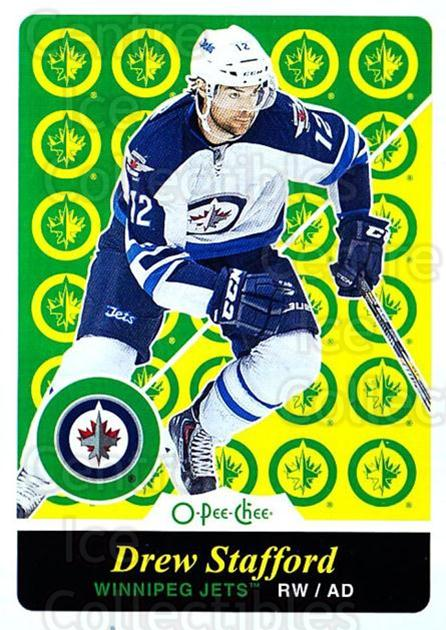 2015-16 O-pee-chee Retro #188 Drew Stafford<br/>1 In Stock - $2.00 each - <a href=https://centericecollectibles.foxycart.com/cart?name=2015-16%20O-pee-chee%20Retro%20%23188%20Drew%20Stafford...&quantity_max=1&price=$2.00&code=710929 class=foxycart> Buy it now! </a>