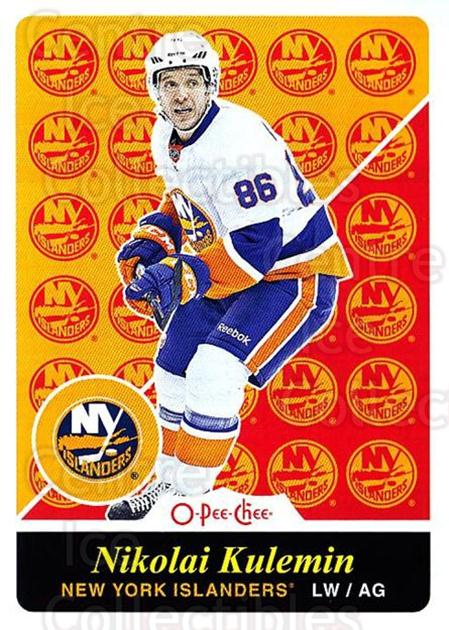 2015-16 O-pee-chee Retro #191 Nikolai Kulemin<br/>1 In Stock - $2.00 each - <a href=https://centericecollectibles.foxycart.com/cart?name=2015-16%20O-pee-chee%20Retro%20%23191%20Nikolai%20Kulemin...&quantity_max=1&price=$2.00&code=710932 class=foxycart> Buy it now! </a>