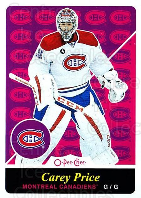 2015-16 O-pee-chee Retro #200 Carey Price<br/>1 In Stock - $10.00 each - <a href=https://centericecollectibles.foxycart.com/cart?name=2015-16%20O-pee-chee%20Retro%20%23200%20Carey%20Price...&price=$10.00&code=710941 class=foxycart> Buy it now! </a>
