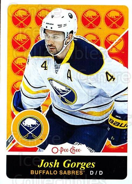 2015-16 O-pee-chee Retro #214 Josh Gorges<br/>1 In Stock - $2.00 each - <a href=https://centericecollectibles.foxycart.com/cart?name=2015-16%20O-pee-chee%20Retro%20%23214%20Josh%20Gorges...&quantity_max=1&price=$2.00&code=710955 class=foxycart> Buy it now! </a>