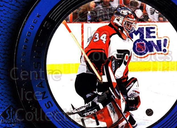 1998-99 SP Authentic Snapshots #16 John Vanbiesbrouck<br/>1 In Stock - $2.00 each - <a href=https://centericecollectibles.foxycart.com/cart?name=1998-99%20SP%20Authentic%20Snapshots%20%2316%20John%20Vanbiesbro...&quantity_max=1&price=$2.00&code=71095 class=foxycart> Buy it now! </a>