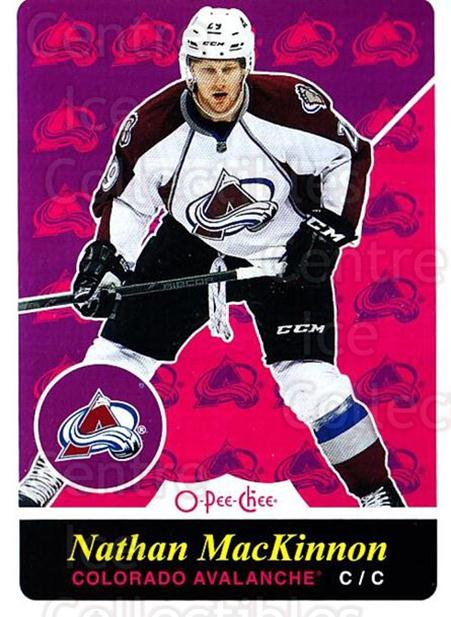 2015-16 O-pee-chee Retro #223 Nathan MacKinnon<br/>1 In Stock - $3.00 each - <a href=https://centericecollectibles.foxycart.com/cart?name=2015-16%20O-pee-chee%20Retro%20%23223%20Nathan%20MacKinno...&quantity_max=1&price=$3.00&code=710964 class=foxycart> Buy it now! </a>