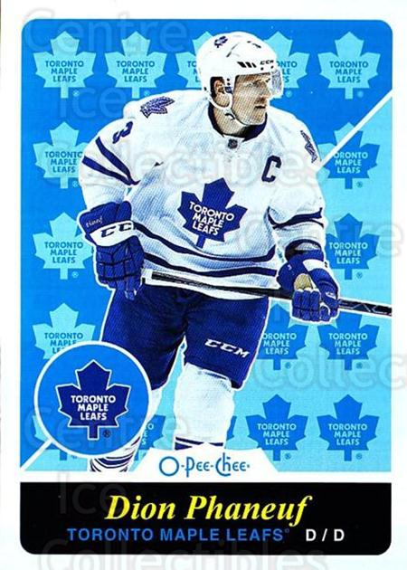 2015-16 O-pee-chee Retro #260 Dion Phaneuf<br/>1 In Stock - $2.00 each - <a href=https://centericecollectibles.foxycart.com/cart?name=2015-16%20O-pee-chee%20Retro%20%23260%20Dion%20Phaneuf...&quantity_max=1&price=$2.00&code=711001 class=foxycart> Buy it now! </a>