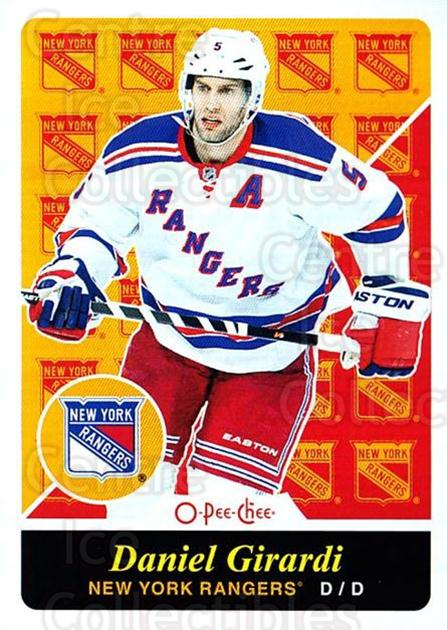 2015-16 O-pee-chee Retro #285 Daniel Girardi<br/>1 In Stock - $2.00 each - <a href=https://centericecollectibles.foxycart.com/cart?name=2015-16%20O-pee-chee%20Retro%20%23285%20Daniel%20Girardi...&quantity_max=1&price=$2.00&code=711026 class=foxycart> Buy it now! </a>