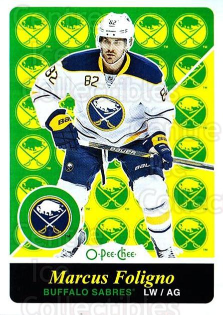 2015-16 O-pee-chee Retro #295 Marcus Foligno<br/>1 In Stock - $2.00 each - <a href=https://centericecollectibles.foxycart.com/cart?name=2015-16%20O-pee-chee%20Retro%20%23295%20Marcus%20Foligno...&quantity_max=1&price=$2.00&code=711036 class=foxycart> Buy it now! </a>