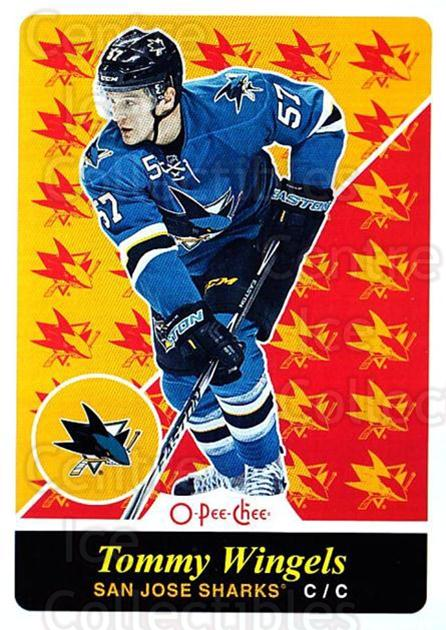 2015-16 O-pee-chee Retro #322 Tommy Wingels<br/>1 In Stock - $2.00 each - <a href=https://centericecollectibles.foxycart.com/cart?name=2015-16%20O-pee-chee%20Retro%20%23322%20Tommy%20Wingels...&quantity_max=1&price=$2.00&code=711063 class=foxycart> Buy it now! </a>