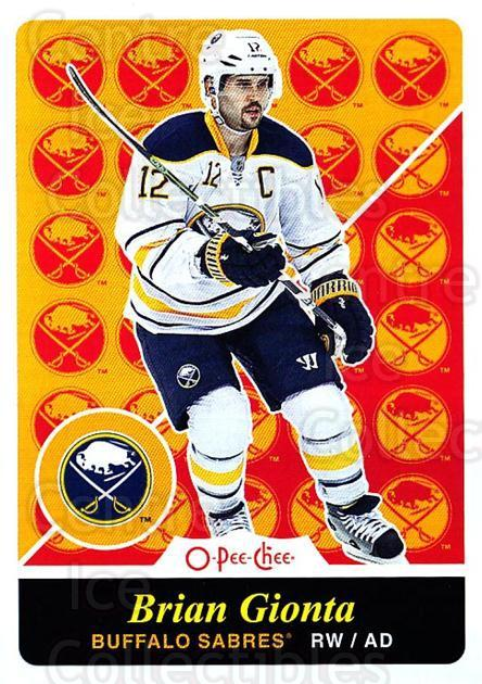 2015-16 O-pee-chee Retro #328 Brian Gionta<br/>1 In Stock - $2.00 each - <a href=https://centericecollectibles.foxycart.com/cart?name=2015-16%20O-pee-chee%20Retro%20%23328%20Brian%20Gionta...&quantity_max=1&price=$2.00&code=711069 class=foxycart> Buy it now! </a>