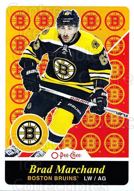 2015-16 O-pee-chee Retro #330 Brad Marchand<br/>1 In Stock - $2.00 each - <a href=https://centericecollectibles.foxycart.com/cart?name=2015-16%20O-pee-chee%20Retro%20%23330%20Brad%20Marchand...&quantity_max=1&price=$2.00&code=711071 class=foxycart> Buy it now! </a>