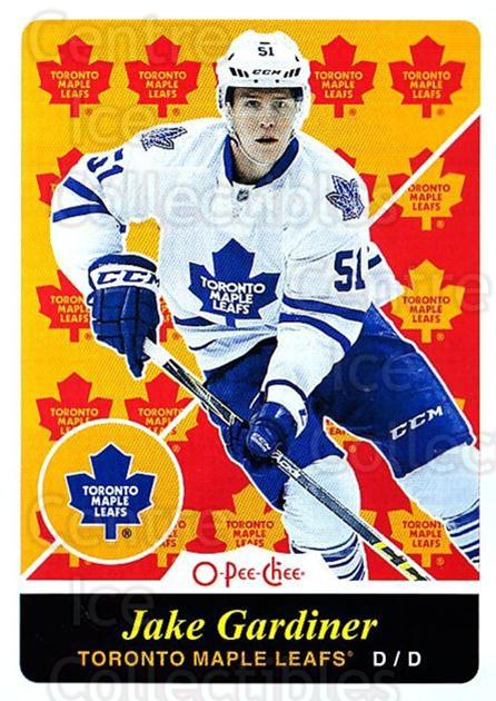 2015-16 O-pee-chee Retro #332 Jake Gardiner<br/>1 In Stock - $2.00 each - <a href=https://centericecollectibles.foxycart.com/cart?name=2015-16%20O-pee-chee%20Retro%20%23332%20Jake%20Gardiner...&quantity_max=1&price=$2.00&code=711073 class=foxycart> Buy it now! </a>