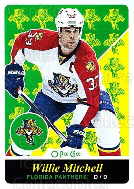 2015-16 O-pee-chee Retro #349 Willie Mitchell<br/>1 In Stock - $2.00 each - <a href=https://centericecollectibles.foxycart.com/cart?name=2015-16%20O-pee-chee%20Retro%20%23349%20Willie%20Mitchell...&quantity_max=1&price=$2.00&code=711090 class=foxycart> Buy it now! </a>