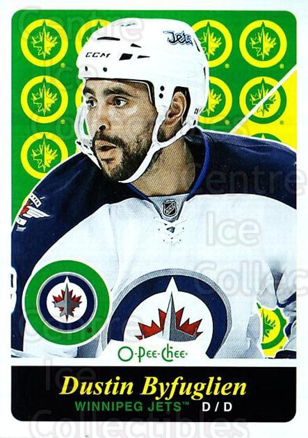 2015-16 O-pee-chee Retro #355 Dustin Byfuglien<br/>1 In Stock - $2.00 each - <a href=https://centericecollectibles.foxycart.com/cart?name=2015-16%20O-pee-chee%20Retro%20%23355%20Dustin%20Byfuglie...&quantity_max=1&price=$2.00&code=711096 class=foxycart> Buy it now! </a>