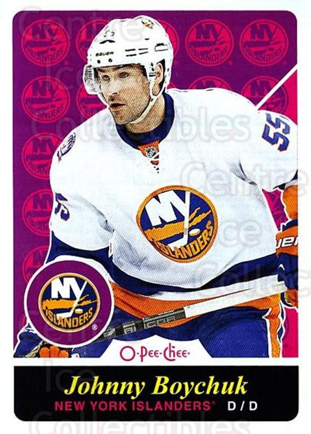 2015-16 O-pee-chee Retro #431 Johnny Boychuk<br/>1 In Stock - $2.00 each - <a href=https://centericecollectibles.foxycart.com/cart?name=2015-16%20O-pee-chee%20Retro%20%23431%20Johnny%20Boychuk...&quantity_max=1&price=$2.00&code=711172 class=foxycart> Buy it now! </a>
