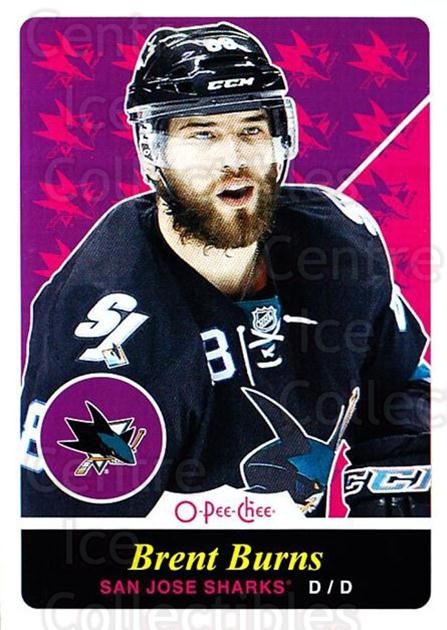 2015-16 O-pee-chee Retro #465 Brent Burns<br/>1 In Stock - $2.00 each - <a href=https://centericecollectibles.foxycart.com/cart?name=2015-16%20O-pee-chee%20Retro%20%23465%20Brent%20Burns...&quantity_max=1&price=$2.00&code=711206 class=foxycart> Buy it now! </a>