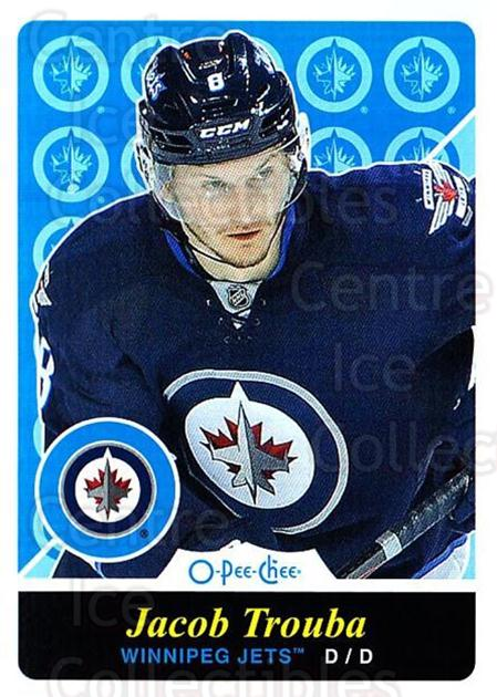 2015-16 O-pee-chee Retro #485 Jacob Trouba<br/>1 In Stock - $2.00 each - <a href=https://centericecollectibles.foxycart.com/cart?name=2015-16%20O-pee-chee%20Retro%20%23485%20Jacob%20Trouba...&quantity_max=1&price=$2.00&code=711226 class=foxycart> Buy it now! </a>